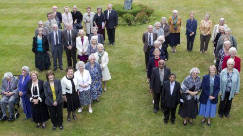 Class of 65 celebrating Christ Church's Golden Jubilee.