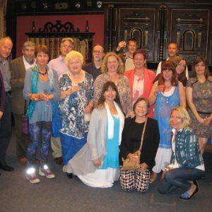 MA Myth & Mythology first cohort reunite for dinner.