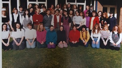 The OT Class of 1993 in their final year