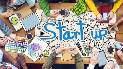 Image representing business start up